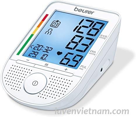 Máy đo huyết áp bắp tay Beurer BM49 có giọng nói