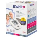 Máy đo huyết áp bắp tay B.Well PRO-33 (Thụy Sĩ)