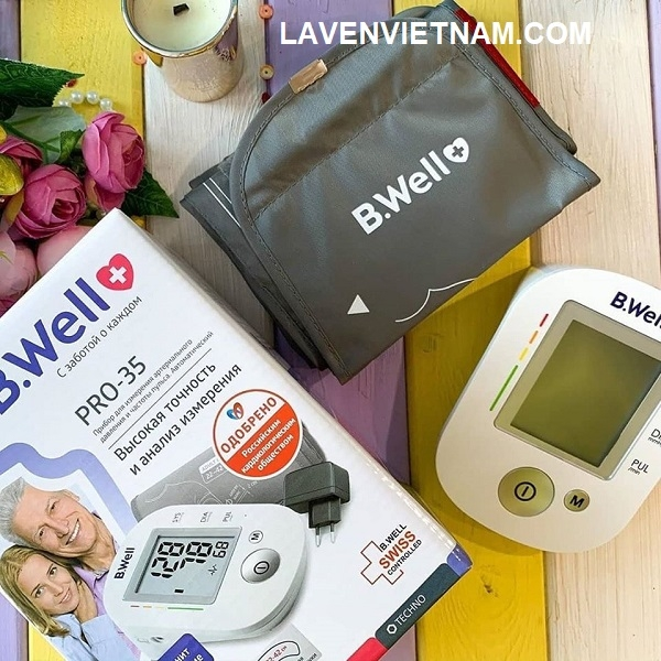 Bwell Pro35 được nhập khẩu nguyên chiếc từ Thụy Sĩ