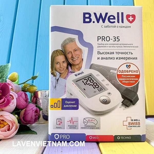 Máy đo huyết áp bắp tay B.Well  Cho kết quả đo nhanh và chính xác theo chuẩn WHO