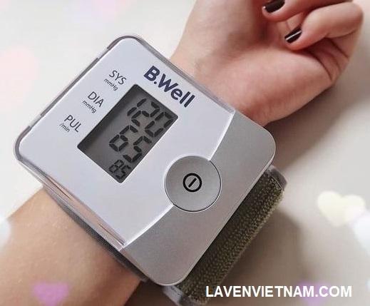 Dễ dàng đo và cho kết quả huyết áp nhanh