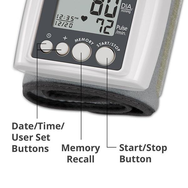 Máy đo huyết áp cổ tay USA HoMedics BPW-040E công nghệ Smart Measure Technology