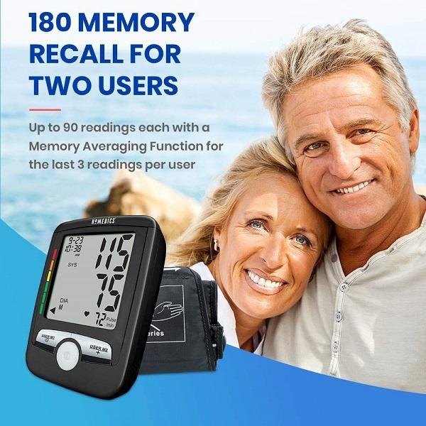 Tính năng thông minh: Phát hiện nhịp tim bất thường, Phát hiện chuyển động cơ thể quá mức, Tự động tắt máy