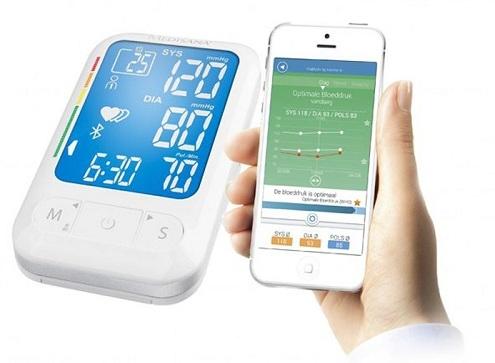 Máy đo huyết áp bắp tay Medisana BU 550