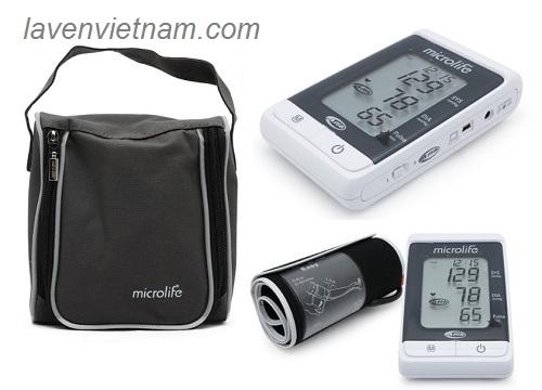 là thiết bị đo huyết áp cao cấp và hiện đại của Microlife được tích hợp công nghệ đo AFIB và MAM giúp đưa ra kết quả chính xác và tin cậy, cảnh báo sớm về chứng Tăng huyết áp và Rung nhĩ, hai nguyên nhân chính dẫn đến Đột quỵ não. Ngoài ra, Microlife BP A200 còn được thiết kế phầm mềm riêng để có thể kết nối với máy tính và đưa ra kết quả phân tích hữu ích cho người dùng. Với công nghệ vượt trội và các tính năng ưu việt, máy đo huyết áp bắp tay là thiết bị hỗ trợ đắc lực cho việc khám chữa bệnh và chăm sóc sức khỏe tại các phòng khám, cơ sở y tế cũng như trong mỗi gia đình.