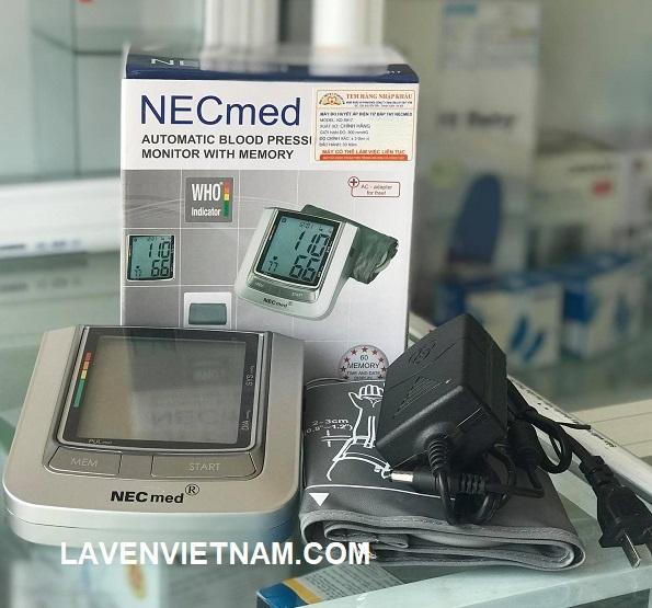 Máy đo huyết áp điện tử bắp tay Necmed KD-5917 (KD5917) có hệ thống phát hiện rối loạn nhịp tim và có thể lưu trữ 60 kết quả đo cùng với ngày giờ trong bộ nhớ của nó.