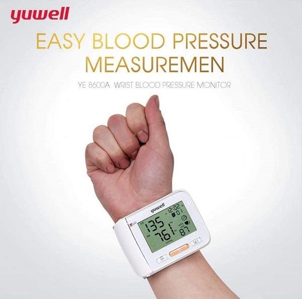 Bộ nhớ máy huyết áp Yuwell 8600A lớn, lưu trữ 60 kết quả đo, đồng thời máy của hỗ trợ hiển thị kết quả trung bình của 3 lần đo cuối giúp bạn có thể dễ dàng theo dõi tình trạng huyết áp của mình.