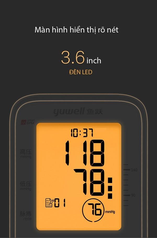 Máy đo huyết áp điện tử bắp tay Yuwell YE660F - 2