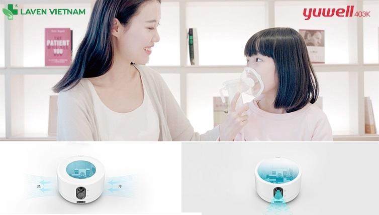 Máy Xông Mũi Họng Yuwell 403K là sản phẩm lý tưởng cho hộ gia đình cũng như các chuyên gia y tế, thích hợp cho tất cả bệnh nhân.