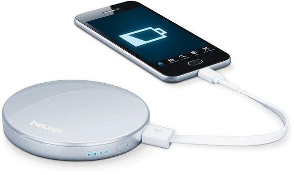 Bạn có thể sử dụng để sạc điện thoại thông minh và các thiết bị điện tử khác thông qua cổng USB.