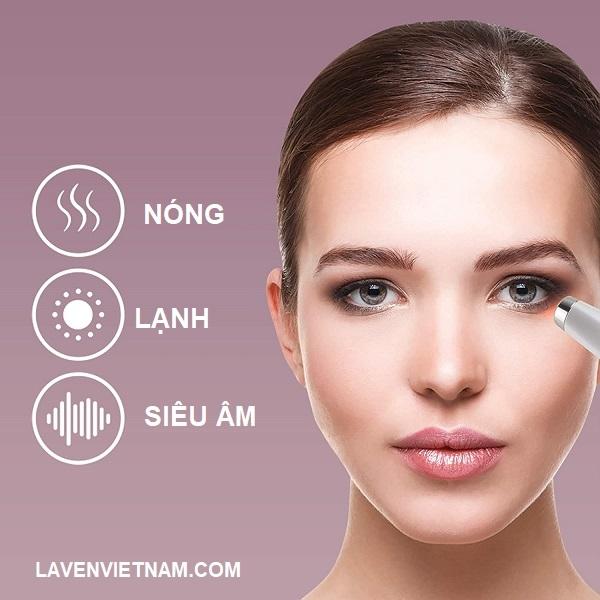 Máy massage mắt Homedics EYE-200 làm mờ thâm bọng mắt