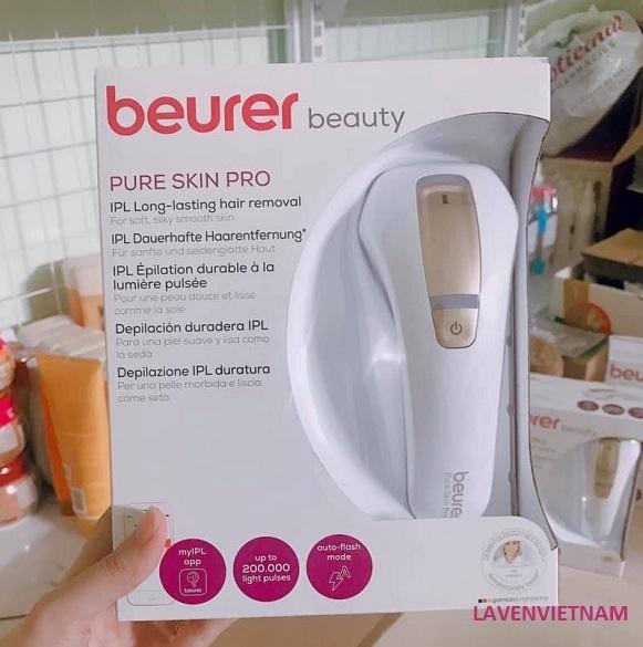 Máy triệt lông Beurer Pure Skin Pro IPL 5500