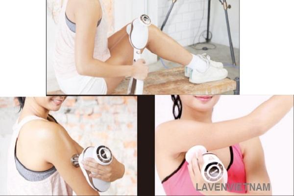 Sử dụng máy massage thường xuyên hàng ngày sẽ giúp ngăn chặn bệnh đau cơ một cách hiệu quả và giúp cơ thể sảng khoái và phấn chấn hơn.