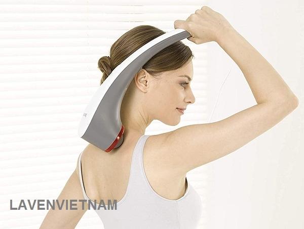 Máy massage cầm tay có đèn hồng ngoại Beurer MG55 dễ dàng mát xa ở mọi tư thế