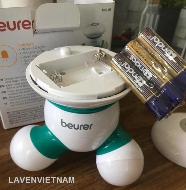 Máy massage cầm tay Beurer MG16 mini