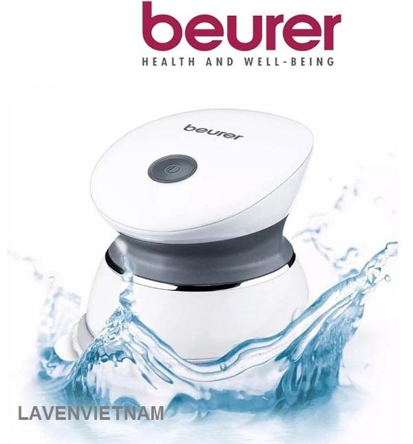 Sản phẩm Máy massage mini spa beurer MGE20 chống thấm nước, sử dụng massage và tẩy tế bào chết cả khi tắm