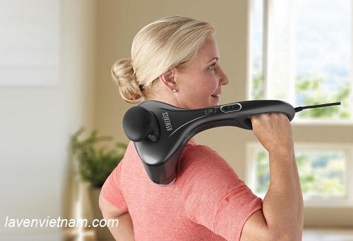 Máy massage cầm tay chuyên nghiệp nóng lạnh HoMedics HHP-500H