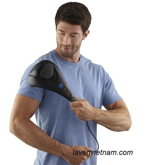 Máy massage cầm tay HoMedics HHP-385H hai đầu kèm nhiệt