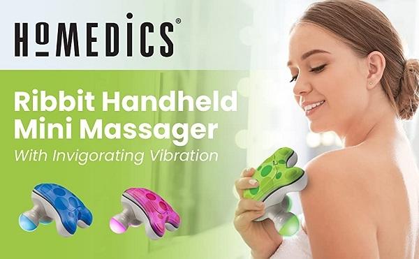 Máy massage cầm tay Ribbit Homedics NOV-45 cầm tay nhỏ gọn