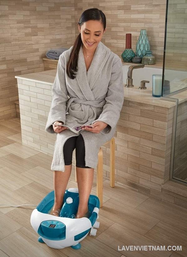 Chế độ nhiệt giúp thư giãn và trị liệu
