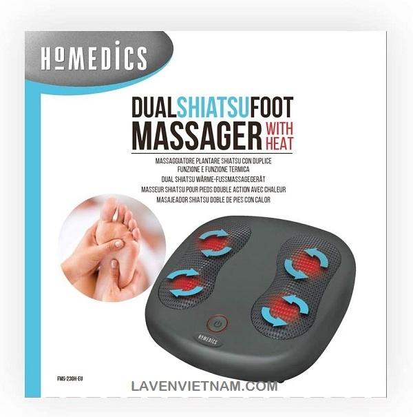 Làm dịu nhiệt giải phóng căng thẳng - Dễ dàng chọn điều khiển bằng chân