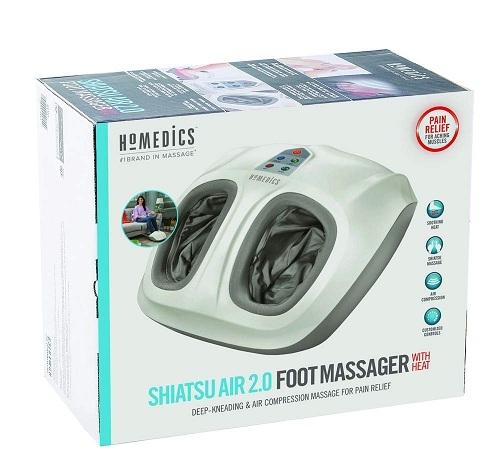 Máy massage chân khô cao cấp bóp khí shiatsu 3D, kèm nhiệt