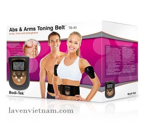 Đai massage giảm béo bụng và cánh tay Bodi-Tek AATB