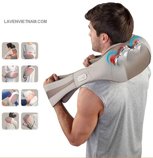 Đai massage cổ vai gáy HoMedics NMS-620H