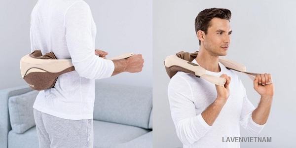 Đai massage Beurer MG153 shiatsu 4D Massage kích thích lưu lượng máu đến da và cơ bắp.