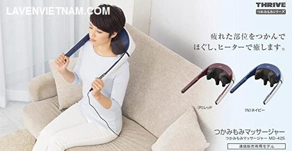 Máy massage cổ gáy Thrive MD-425 (Nhật) có chức năng nhiệt