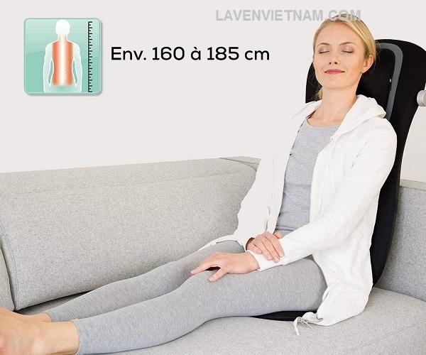 Đệm ghế massage Beurer MG254 cho lưng cổ, cột sống