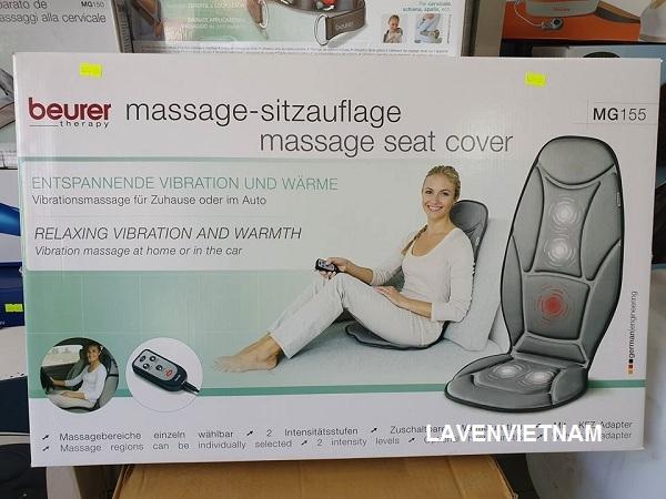 Đệm ghế massage Beurer MG155 dành cho ô tô