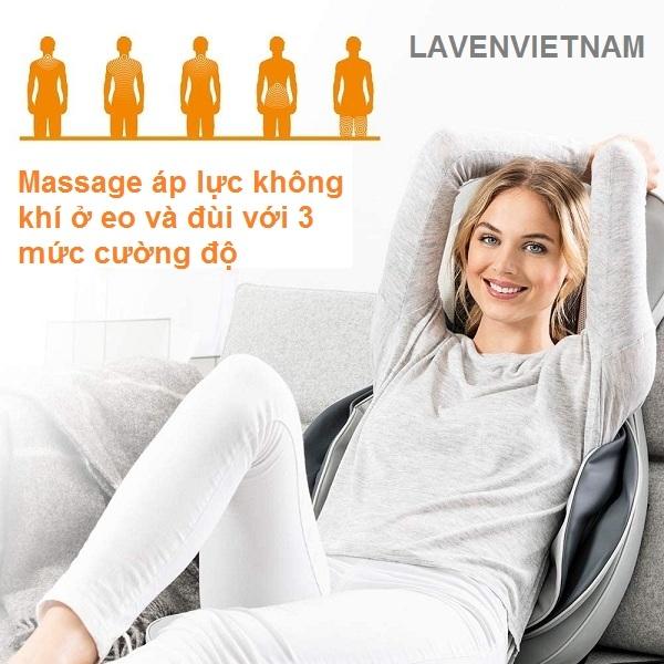 Ghế massage MG320 là hoàn hảo để sử dụng ở nhà và trong văn phòng.