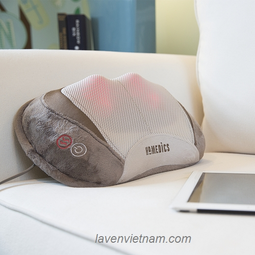 Gối massage công nghệ Shiatsu 3D HoMedics SP-100HA
