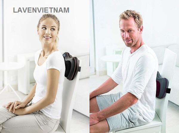 Gối massage Beurer MG149 giúp bạn thư giãn massage ngay tại nhà
