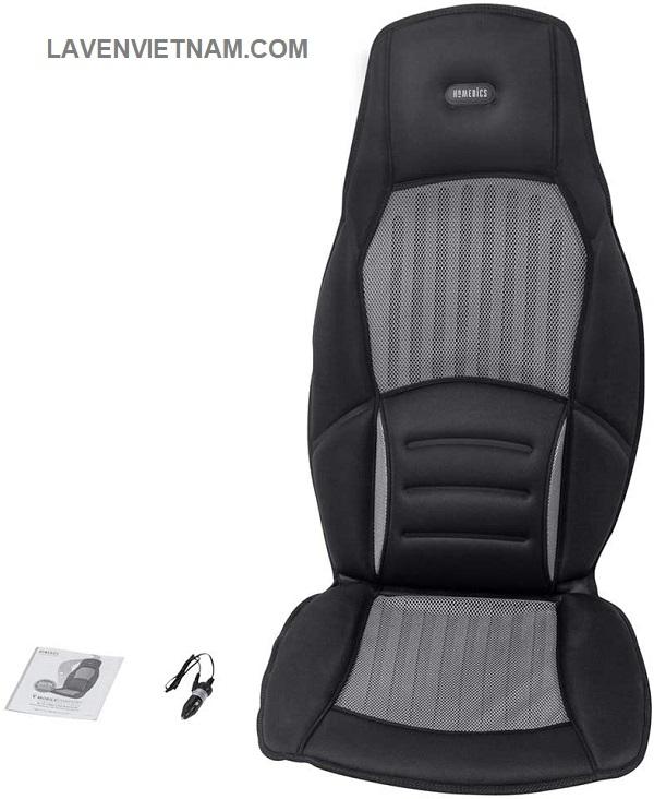 Homedics TA-VC275H sử dụng trên ô tô giúp đem lại cảm  giác thư giãn