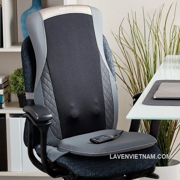 Kích hoạt tùy chọn nhiệt nhẹ nhàng bất cứ lúc nào trong quá trình massage để làm ấm và xoa dịu các cơ đang mệt mỏi