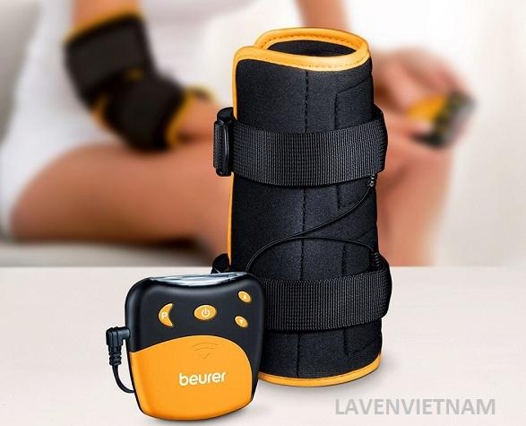Máy massage xung điện Beurer EM28 sử dụng công nghệ TENS - kích thích dây thần kinh xuyên da, đây là một phương pháp giảm đau hiệu quả đã được chứng minh.