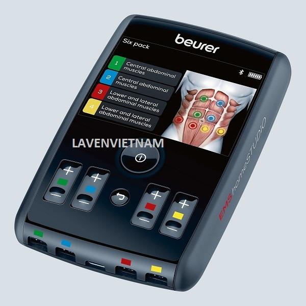 Màn hình Máy massage xung điện Beurer EM95 Bluetooth