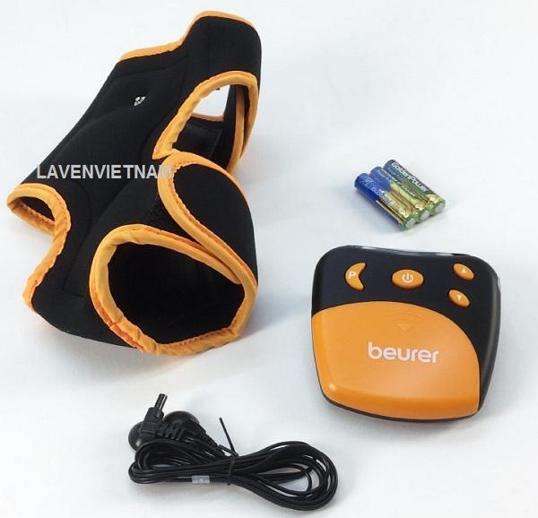 Trọn bộ sản phẩm Máy massage xung điện Beurer EM27