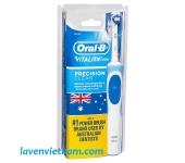 Bàn chải điện Oral B Vitality Precision Clean kèm 2 đầu chải