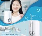Niềm vui người niềng răng với Máy tăm nước công nghệ sóng âm làm sạch sâu răng miệng