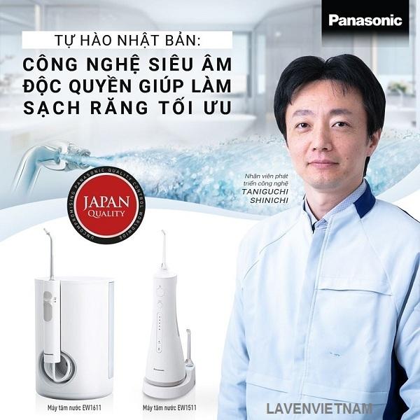 Tự hào Nhật Bản - Công nghệ máy tăm nước siêu âm độc quyền giúp làm sạch răng miệng tối ưu