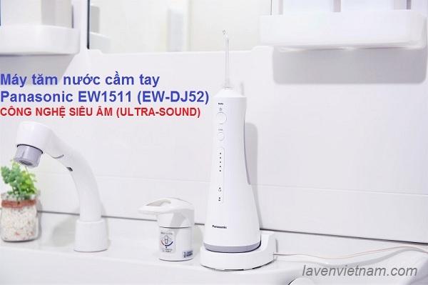 Máy tăm nước du lịch Panasonic EW1511 (EW-DJ52 Nhật nội địa))