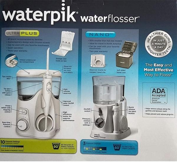 Bộ tăm nước Waterpik WP-140W và tăm nước du lịch Waterpik WP-310W