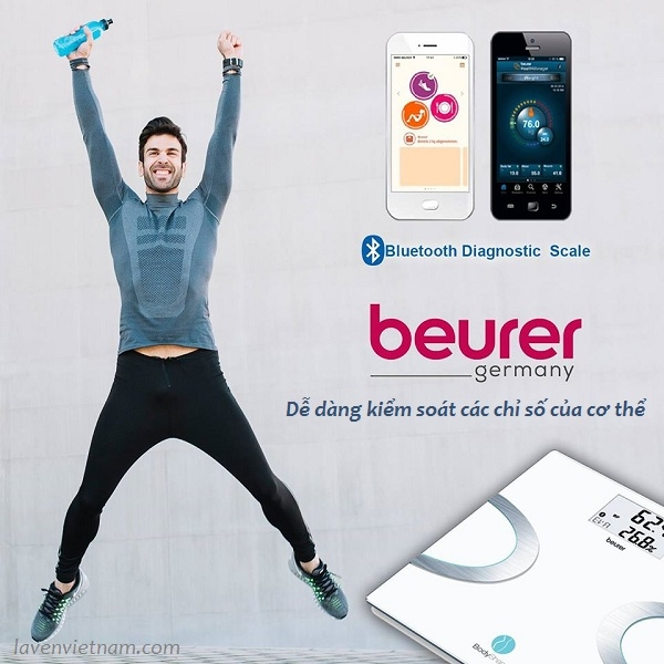 Cân phân tích cơ thể Beurer BF710 Bluetooth