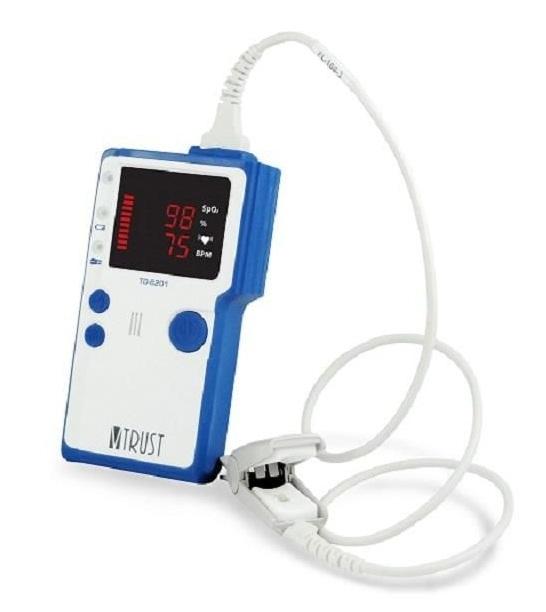 Máy đo nồng độ Oxy SpO2 Uright Vtrust TD-8201