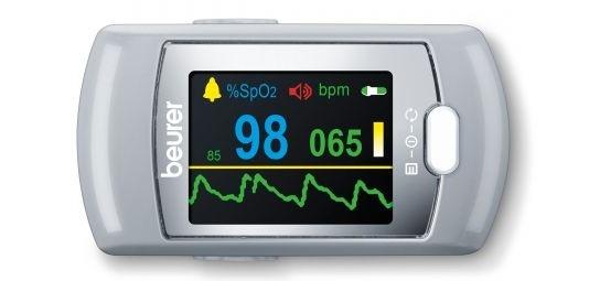 Máy đo nồng độ oxy và nhịp tim Beurer PO80 Bluetooth