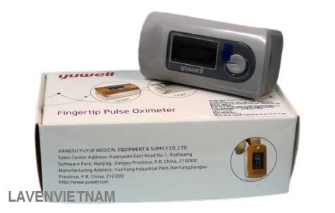 Máy đo nồng độ oxy SpO2 và nhịp tim Yuwell YX301