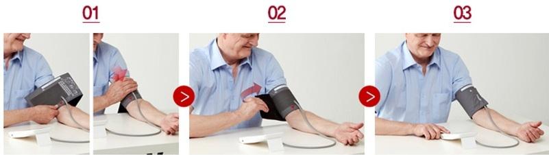 Hướng dẫn cách đo huyết áp bằng máy đo huyết áp Inbody